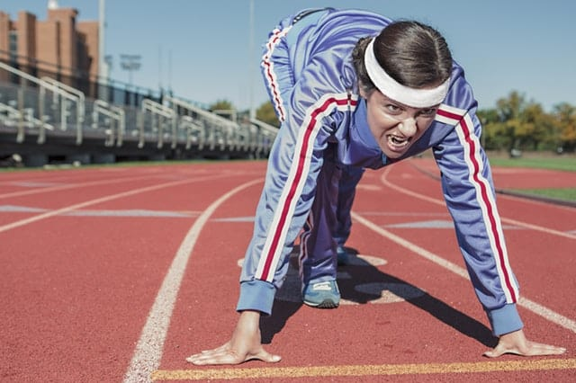 HIIT workout sprint