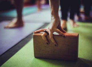 wooden handstand block