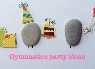 gymnastics party ideas