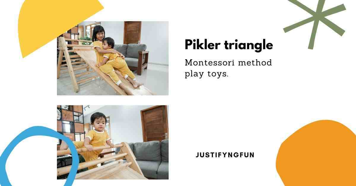 pikler triangle climbing toy