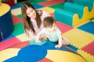 toddler climbing activity