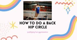 how to do a back hip circle