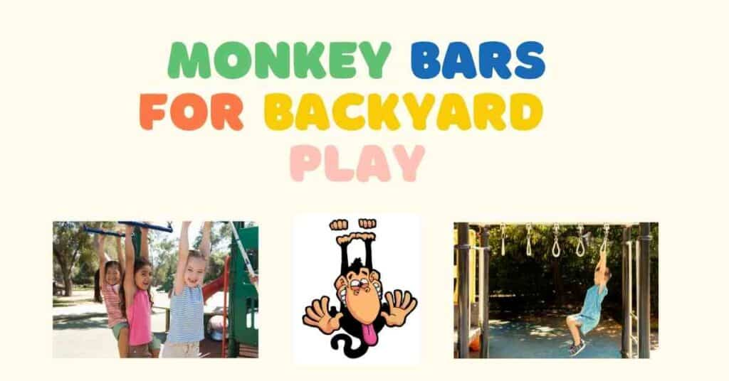 monkey bars for backyard