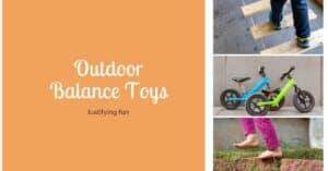 outdoor balance toys